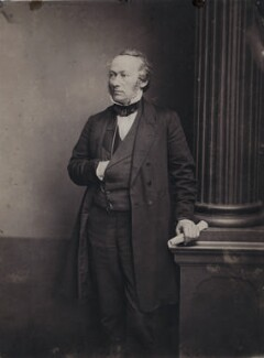 Richard Cobden, by Unknown photographer - NPG x8010
