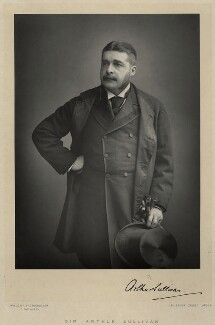 Sir Arthur Seymour Sullivan, by Walery, published by  Sampson Low & Co - NPG x8018