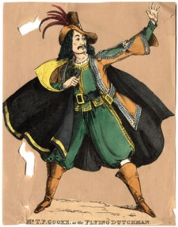 Thomas Potter Cook as The Flying Dutchman, by Unknown artist - NPG D10924