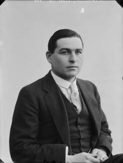 Joseph Montague Kenworthy, 10th Baron Strabolgi, by Bassano Ltd - NPG x80290