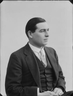Joseph Montague Kenworthy, 10th Baron Strabolgi, by Bassano Ltd - NPG x80291