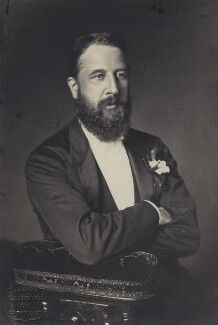 Spencer Compton Cavendish, 8th Duke of Devonshire, by London Stereoscopic & Photographic Company - NPG x8036