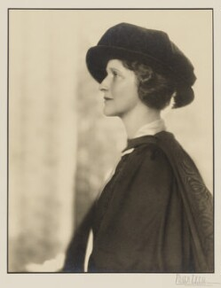 Nancy Astor, Viscountess Astor, by Hugh Cecil (Hugh Cecil Saunders) - NPG x8037