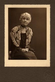 Emmeline Pankhurst, by Olive Edis - NPG x6195