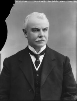 Sir (James) Alfred Ewing, by Bassano Ltd - NPG x80466