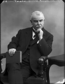Sir (James) Alfred Ewing, by Bassano Ltd - NPG x80467