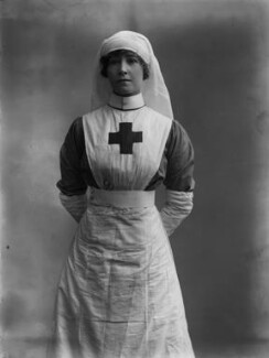 Delia Dorothy (née O'Sullivan), Lady Lucas, by Bassano Ltd - NPG x80849