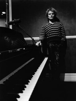 Sting, by Michael Ward - NPG x46679