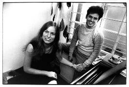 Jacqueline du Pré; Daniel Barenboim, by Michael Ward - NPG x47148