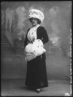 Lilian Mabel Alice ('Mabs') (née Roussel), Lady Richmond Brown, by Bassano Ltd - NPG x81048
