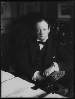 Winston Churchill, by Bassano Ltd - NPG x81065