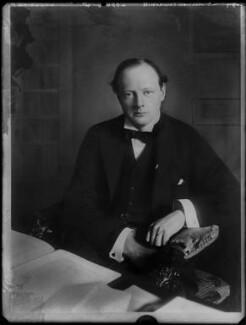 Winston Churchill, by Bassano Ltd - NPG x81066