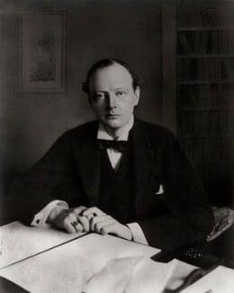 Winston Churchill, by Bassano Ltd - NPG x81067