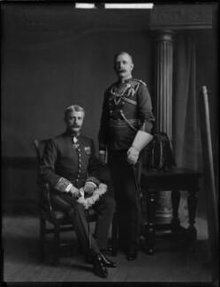 Guy Percy Wyndham; George Wyndham, by H. Walter Barnett - NPG x81416