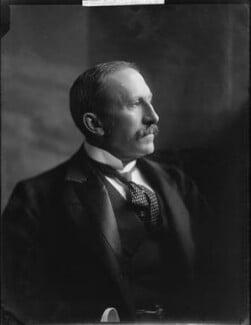 Alfred Milner, Viscount Milner, by H. Walter Barnett - NPG x81504