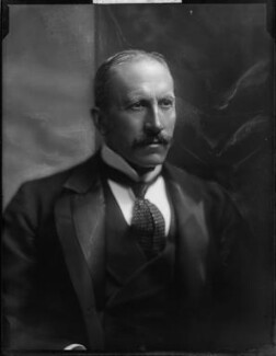 Alfred Milner, Viscount Milner, by Henry Walter ('H. Walter') Barnett, early 1900s - NPG x81506 - © National Portrait Gallery, London