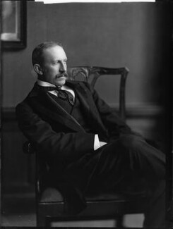 Alfred Milner, Viscount Milner, by H. Walter Barnett, early 1900s - NPG x81508 - © National Portrait Gallery, London