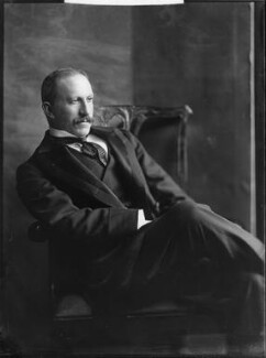Alfred Milner, Viscount Milner, by Henry Walter ('H. Walter') Barnett, early 1900s - NPG x81509 - © National Portrait Gallery, London
