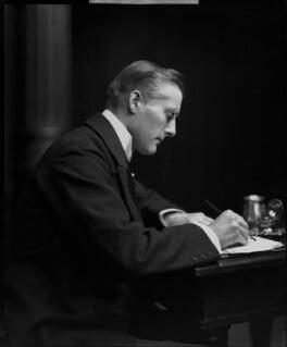 Sir (Joseph) Austen Chamberlain, by H. Walter Barnett - NPG x81542