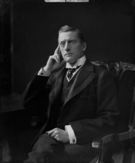 Sir (Joseph) Austen Chamberlain, by H. Walter Barnett - NPG x81543