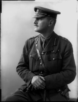 Edmund Henry Hynman Allenby, 1st Viscount Allenby, by H. Walter Barnett - NPG x81623