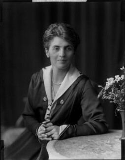 Adelaide Mabel Allenby (née Chapman), Viscountess Allenby of Megiddo, by H. Walter Barnett, 1900-1920 - NPG x81627 - © National Portrait Gallery, London
