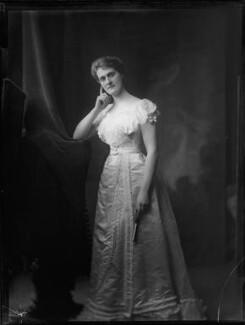 Katherine Georgiana Louisa (née Thynne), Countess of Cromer, by H. Walter Barnett - NPG x81654