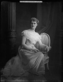 Katherine Georgiana Louisa (née Thynne), Countess of Cromer, by H. Walter Barnett - NPG x81657