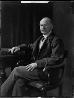 Thomas Hardy, by H. Walter Barnett - NPG x81699