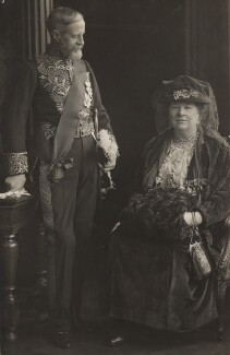 The Marquess and Marchioness of Aberdeen and Temair, by H. Walter Barnett - NPG x45245