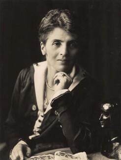 Adelaide Mabel Allenby (née Chapman), Viscountess Allenby of Megiddo, by Henry Walter ('H. Walter') Barnett, 1915-1920 - NPG x45250 - © National Portrait Gallery, London