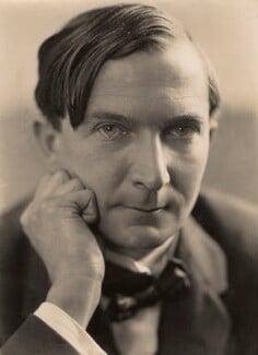 Stacy Aumonier, by Oscar Hardee (Oscar Hardee Blyfield), for  Henry Walter ('H. Walter') Barnett, early 1920s - NPG x45252 - © National Portrait Gallery, London