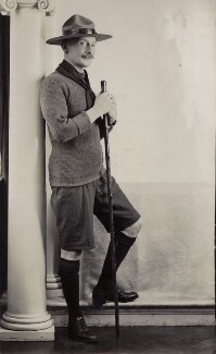 Robert Baden-Powell, by Henry Walter ('H. Walter') Barnett, 1908 - NPG x45253 - © National Portrait Gallery, London