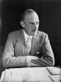 Oliver Lyttelton, 1st Viscount Chandos, by Walter Stoneman - NPG x8382