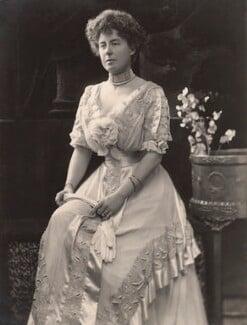 Alice Maud Olivia (née Montagu), Countess of Derby, by H. Walter Barnett - NPG x45270