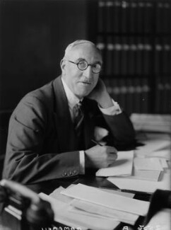 Sir Edward Taswell Campbell, 1st Bt, by Walter Stoneman - NPG x8407