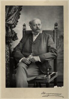 William Nevill, 1st Marquess of Abergavenny, by Walery, published by  Sampson Low & Co, published February 1889 - NPG x8442 - © National Portrait Gallery, London