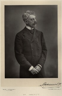 Sir Squire Bancroft Bancroft (né Butterfield), by Walery, published by  Sampson Low & Co - NPG x8452