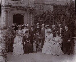 Members of the Marlborough House Set, by David Knights-Whittome, 10-17 September 1906 - NPG x8466 - © National Portrait Gallery, London
