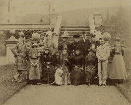 King Edward VII and large royal party, by Robert Milne - NPG x8494
