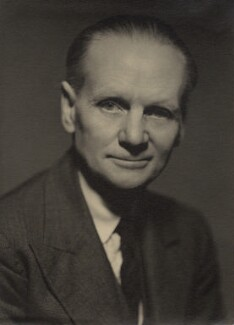 Sir (Ralph) Norman Angell (né Ralph Norman Angell Lane), by Howard Coster, 1938 - NPG x86 - © National Portrait Gallery, London