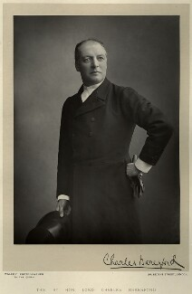Charles William de la Poer Beresford, Baron Beresford, by Walery, published by  Sampson Low & Co - NPG x8689