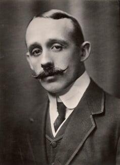 Sir Arthur Philip du Cros, 1st Bt, by H. Walter Barnett - NPG x45275