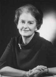 Dame Muriel Powell, by Godfrey Argent - NPG x87061