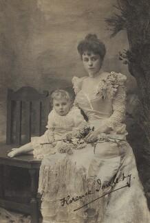 Ivor Herbert Ingleby; Florence Isabel Ingleby, by Alice Hughes - NPG x87146