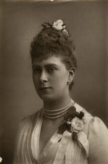 Queen Mary, by W. & D. Downey, 1889 - NPG x87210 - © National Portrait Gallery, London