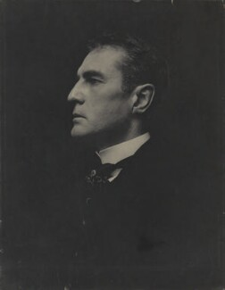 William Hooker Gillette, by Ernest Walter Histed - NPG x87231