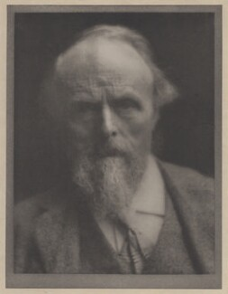 William De Morgan, by Alvin Langdon Coburn - NPG x87254