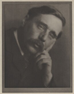 H.G. Wells, by Alvin Langdon Coburn - NPG x87258
