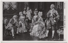 Cast members in 'The School for Scandal', by Daily Mirror, published by  J. Beagles & Co - NPG x8740